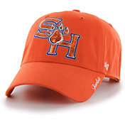 '47 Women's Sam Houston Bearkats Orange Sparkle Clean Up Adjustable Hat