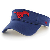 '47 Men's Southern Methodist Mustangs Blue Clean Up Adjustable Visor