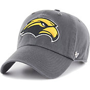 '47 Men's Southern Miss Golden Eagles Grey Clean Up Adjustable Hat