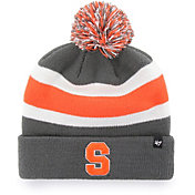 '47 Men's Syracuse Orange Grey Breakaway Cuffed Knit Hat