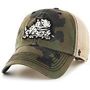 '47 Men's TCU Horned Frogs Camo Burnett Clean Up Adjustable Hat
