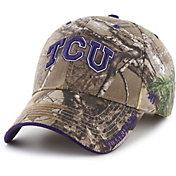 '47 Men's TCU Horned Frogs Camo Realtree Frost MVP Adjustable Hat