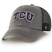 '47 Men's TCU Horned Frogs Grey Blue Mountain Closer Fitted Hat
