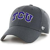 '47 Men's TCU Horned Frogs Grey MVP Adjustable Hat