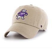 '47 Men's TCU Horned Frogs Khaki Clean Up Adjustable Hat