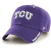'47 Men's TCU Horned Frogs Purple Ice Clean Up Adjustable Hat
