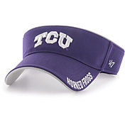 '47 Men's TCU Horned Frogs Purple Top Rope Adjustable Visor