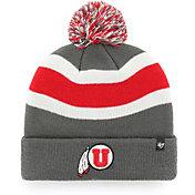 '47 Men's Utah Utes Grey Breakaway Cuffed Knit Hat