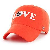 '47 Women's UTEP Miners Blaze Orange Love Script Clean Up Adjustable Hat