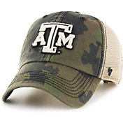 '47 Men's Texas A&M Aggies Camo Burnett Clean Up Adjustable Hat
