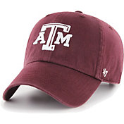 '47 Men's Texas A&M Aggies Maroon Clean Up Adjustable Hat
