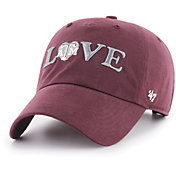 '47 Women's Texas A&M Aggies Maroon Love Script Clean Up Adjustable Hat