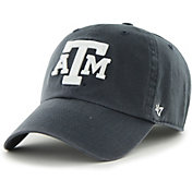 '47 Men's Texas A&M Aggies Navy Clean Up Adjustable Hat