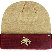 '47 Men's Texas State Bobcats Gold Marl Two Tone Cuffed Knit Beanie