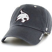 '47 Men's Texas State Bobcats Grey Ice Clean Up Adjustable Hat