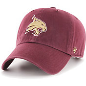 '47 Men's Texas State Bobcats Maroon Clean Up Adjustable Hat