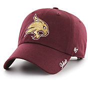 '47 Women's Texas State Bobcats Maroon Sparkle Clean Up Adjustable Hat