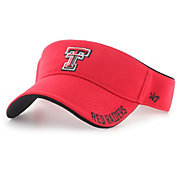 '47 Men's Texas Tech Red Raiders Red Top Rope Adjustable Visor