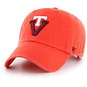 '47 Men's Virginia Tech Hokies Burnt Orange Clean Up Adjustable Hat