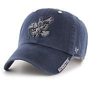 '47 Men's Iowa Hawkeyes Ice Clean Up Adjustable Black Hat
