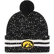 '47 Women's Iowa Hawkeyes Amelia Cuffed Knit Black Hat