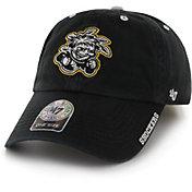'47 Men's Wichita State Shockers Ice Clean Up Adjustable Black Hat