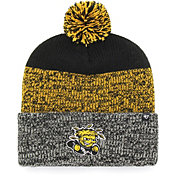 '47 Men's Wichita State Shockers Static Cuffed Knit Black Hat