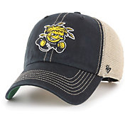 '47 Men's Wichita State Shockers Black Trawler Adjustable Hat