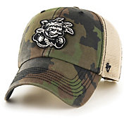 '47 Men's Wichita State Shockers Camo Burnett Clean Up Adjustable Hat