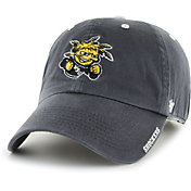 '47 Men's Wichita State Shockers Grey Ice Clean Up Adjustable Hat