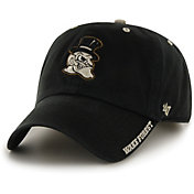 '47 Men's Wake Forest Demon Deacons Ice Clean Up Adjustable Black Hat