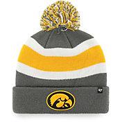 '47 Men's Iowa Hawkeyes Grey Breakaway Cuffed Knit Hat