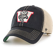 '47 Men's Wisconsin Badgers Trawler Fitted Black Hat
