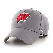 '47 Men's Wisconsin Badgers Red MVP Adjustable Hat