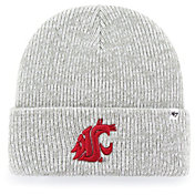 '47 Men's Washington State Cougars Grey Brain Freeze Cuffed Knit Beanie