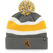 '47 Men's Wyoming Cowboys Grey Breakaway Cuffed Knit Hat