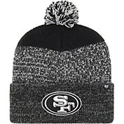 '47 Men's San Francisco 49ers Static Cuffed Black Knit