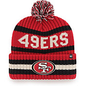 '47 Men's San Francisco 49ers Bering Red Cuffed Knit Hat