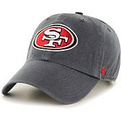 '47 Men's San Francisco 49Ers Grey Clean Up Adjustable Hat