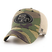 '47 Men's San Francisco 49Ers Camo Branson MVP Adjustable Hat