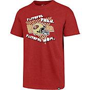 '47 Men's San Francisco 49ers Club Faithful Red T-Shirt
