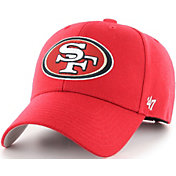 '47 Men's San Francisco 49ers MVP Red Adjustable Hat