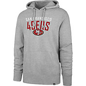 '47 Men's San Francisco 49ers Out Rush Headline Grey Hoodie