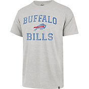 '47 Men's Buffalo Bills Arch Franklin Grey T-Shirt