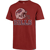 '47 Men's Buffalo Bills Scrum Logo Red T-Shirt
