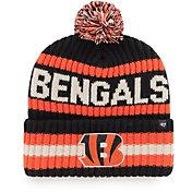 '47 Men's Cincinnati Bengals Bering Black Cuffed Knit Hat