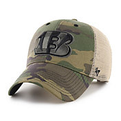 '47 Men's Cincinnati Bengals Camo Branson MVP Adjustable Hat