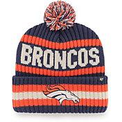 '47 Men's Denver Broncos Bering Navy Cuffed Knit Hat