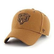 '47 x Carhartt Men's Chicago Bears Tonal Brown MVP Adjustable Hat