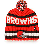 '47 Men's Cleveland Browns Bering Orange Cuffed Knit Hat